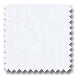 White 2Ply Mini Herringbone Broadcloth - Custom Dress Shirt
