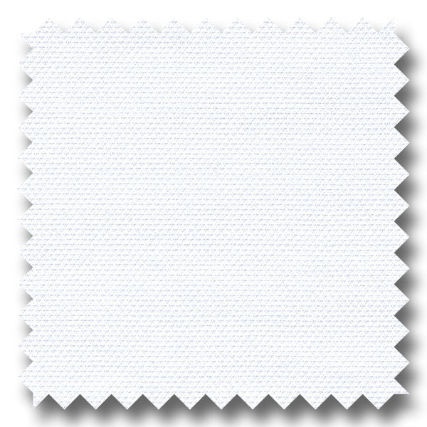 White Solid 2Ply Royal Oxford - Custom Dress Shirt