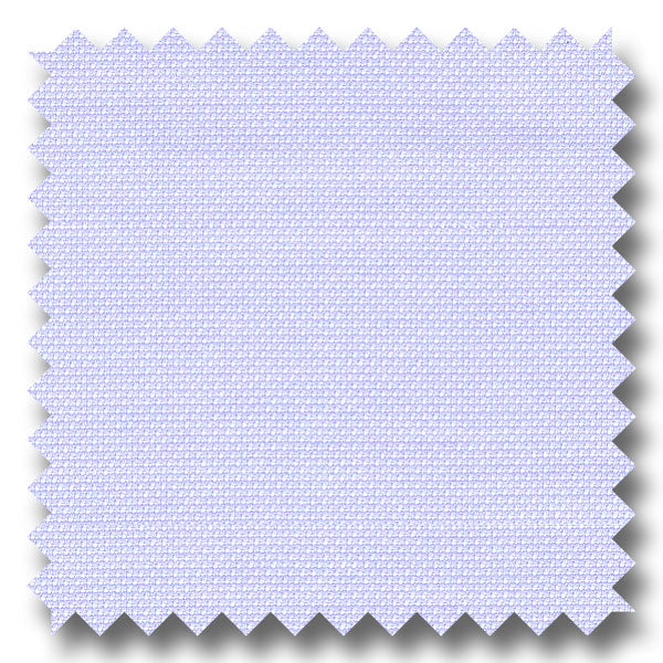 Light Blue Solid 2Ply Royal Oxford - Custom Dress Shirt