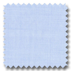 Light Blue Solid 200 2Ply Royal Oxford - Custom Dress Shirt