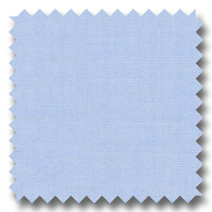 Light Blue Solid 170 2Ply Broadcloth - Custom Dress Shirt
