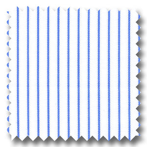 Blue Stripe 170 2Ply Broadcloth - Custom Dress Shirt