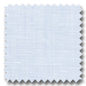 Light Blue Solid 170 2Ply Linen - Custom Dress Shirt