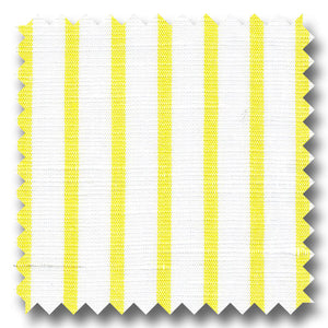 Yellow Stripe 170 2Ply Linen - Custom Dress Shirt