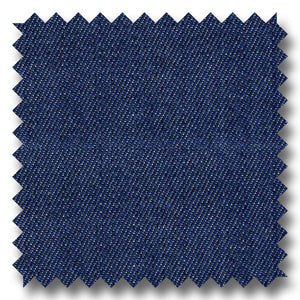 Dark Blue Solid Denim 100% Cotton