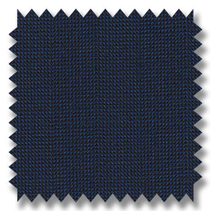 Medium Blue Textured Super 120's Merino Wool