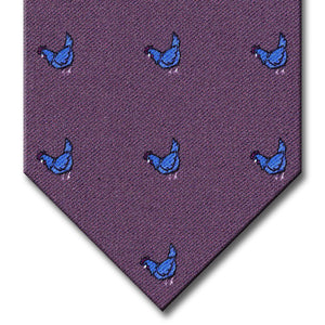 Purple Novelty Tie