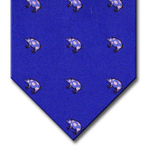 Dark Blue Novelty Tie
