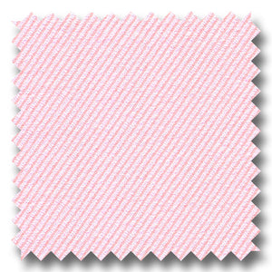 Pink Micro Stripe 2Ply Dobby - Custom Dress Shirt