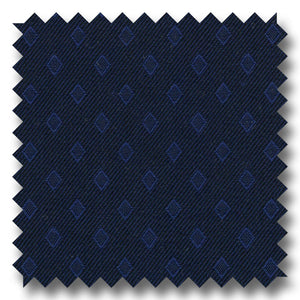 Navy Tone on Tone Self Design Broadcloth - Custom Dress Shirt