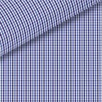 Blue / Navy Check Pinpoint Oxford Dress Shirt