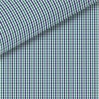 Green / Navy Check Pinpoint Oxford Dress Shirt
