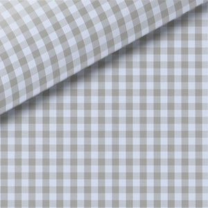 Gray Check Pinpoint Oxford Dress Shirt