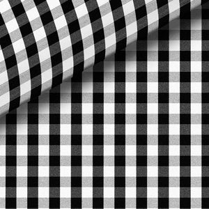 Black Check Broadcloth Dress Shirt
