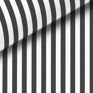 Black Stripe Broadcloth Dress Shirt