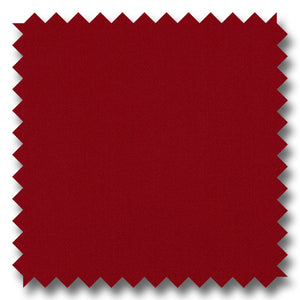 Solid Maroon Red Gabardine