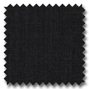 Solid Charcoal Gray Sharkskin 100% Wool