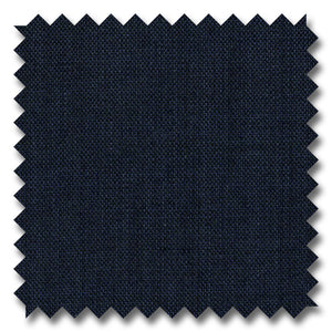 Solid Navy Sharkskin 100% Wool
