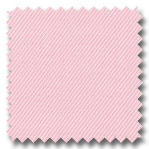 Light Pink Blue Solid 2Ply Twill - Custom Dress Shirt