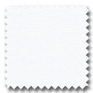 White Micro Herringbone 2Ply Dobby - Custom Dress Shirt