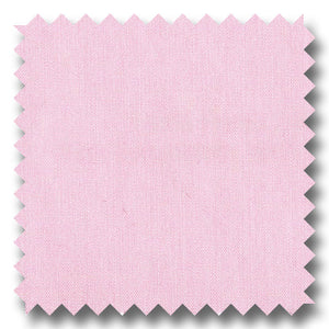 Pink Solid 100's 2Ply Broadcloth - Custom Dress Shirt