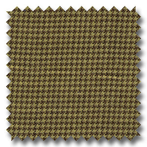 Tan Houndstooth 100% Wool