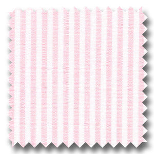 Light Pink Stripe 2Ply Broadcloth - Custom Dress Shirt