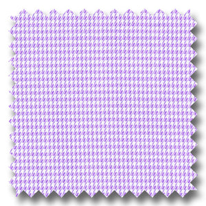 Lavender Check 2Ply Mini Twill - Custom Dress Shirt