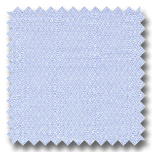 Blue on Blue Diagonal Pique 2Ply - Custom Dress Shirt