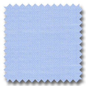Light Blue on Light Blue Diagonal Pique 140 2Ply - Custom Dress Shirt