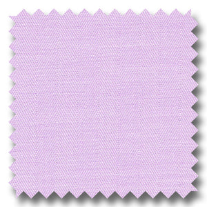 Lavender Solid 2Ply Mini Herringbone - Custom Dress Shirt