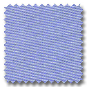 Blue Mini Twill 2Ply Broadcloth - Custom Dress Shirt