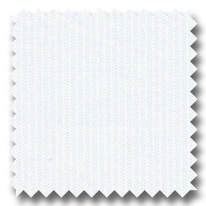 White on White Stripe 2Ply - Custom Dress Shirt