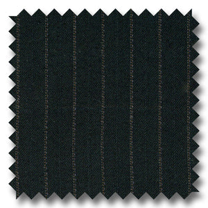 Black with Gray Stripes 100% Wool