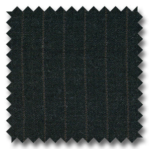 Charcoal Gray Stripes 100% Wool