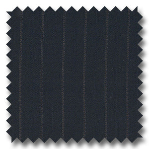 Blue with Gray Stripes 100% Wool