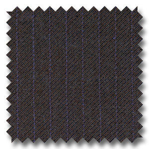 Black with Purple & Orange Stripes 100% Wool