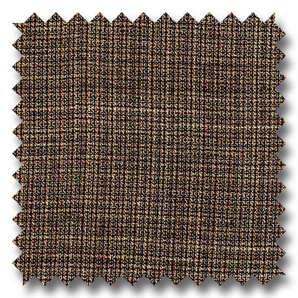 Light Tan Checkered 100% Wool