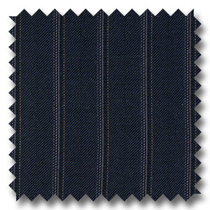 Navy with Multi Stripes 100% Wool