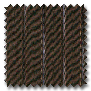 Brown with Multi Stripes 100% Wool