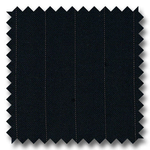 Navy with Gray Stripes 100% Wool