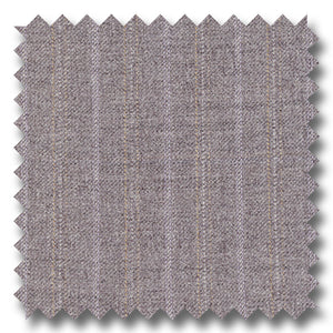 Gray with Silver & Cream Stripes 100% Wool