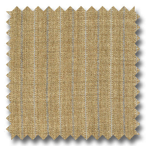 Tan with Blue Stripes 100% Wool