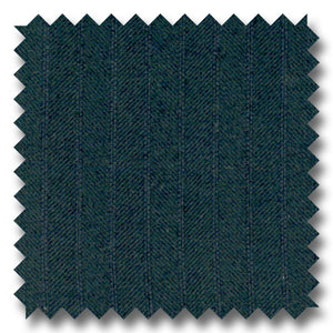 Navy Herringbone with Shadow Stripes 100% Wool