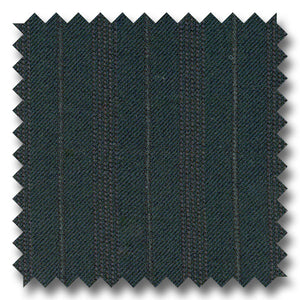 Midnight Blue Shadow Stripes 100% Wool