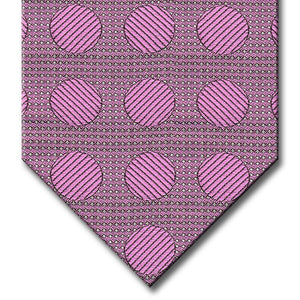 Light Pink Dot Pattern Tie