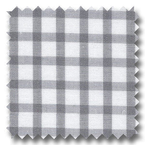 Windowpane Check Pop Gray - Custom Dress Shirt