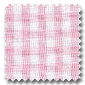 Windowpane Check Pop Pink - Custom Dress Shirt