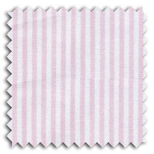 Pink and White Stripe Custom Dress Shirt