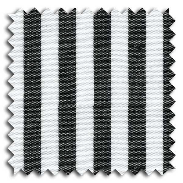 Black and White Stripe Custom Dress Shirt